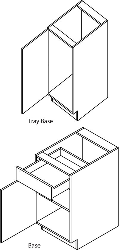 base-single-tray